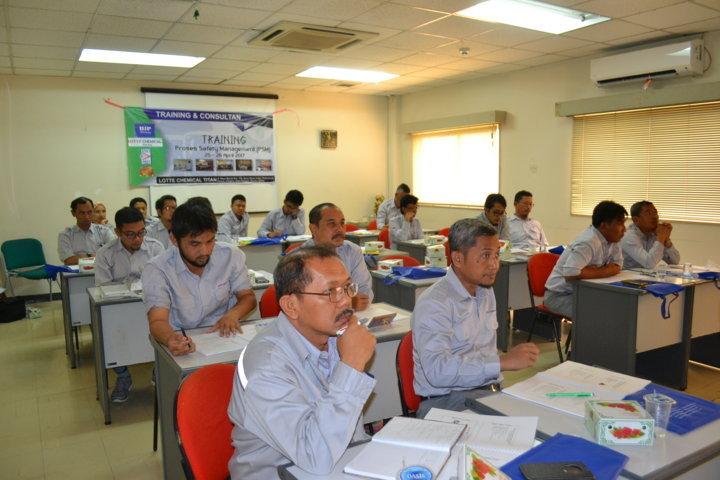 Training Proses Safety Management